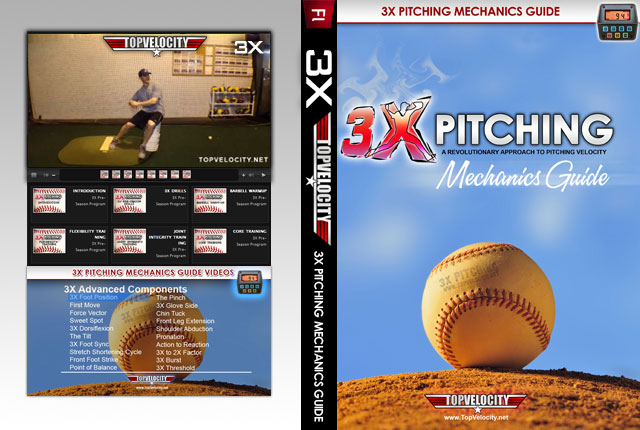 3X Pitching Mechanics Guide Instructional Videos [Unlimited]