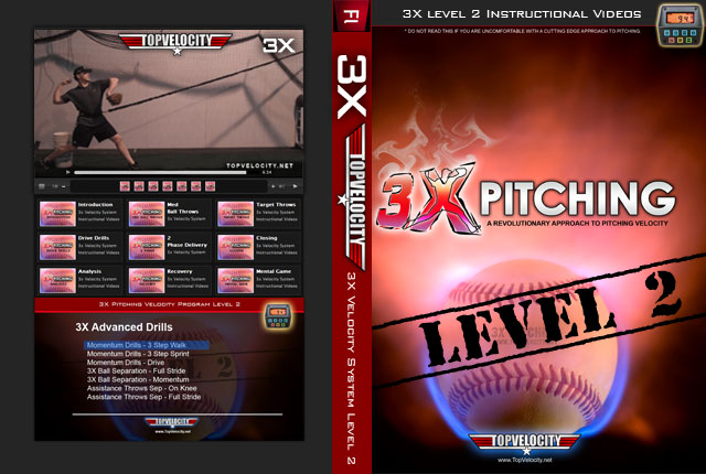 3X Pitching Velocity Level 2 Instructional Videos [Unlimited]